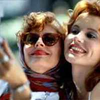 Susan Sarandon  and Geena Davis create nostalgia