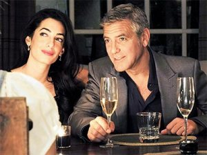 Grand-Wedding-Of-George-Clooney-&-Amal-Alamuddin-To-Be-Featured-In-Fashion-Magazine