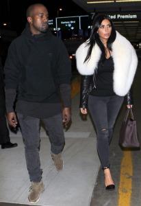 Kim-and-Kanye-fly