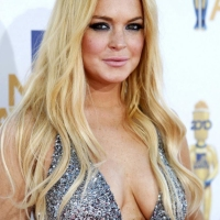 Lindsay Lohan Topless for Hunger Magazine