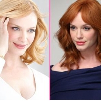 Christina Hendricks Blonde Once Again