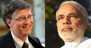 Indian-PM,-Bill-Gates